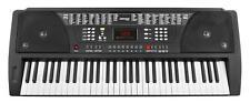 CLAVIER NUMERIQUE PIANO DIGITAL SYNTHETISEUR ELECTRIQUE 100 SONS & RYTHMES NOIR