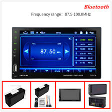 2 Din 7''HD Bluetooth car monitor,Plastics&Metal,High Definition, 120°angle lens