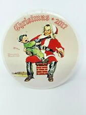 Norman Rockwell Christmas Plates Bundle 2010s Collectibles Home Decor