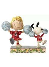 RARE Peanuts Jim Shore SPIRIT SQUAD 4054083 Sally Snoopy Cheerleading NIB Gift