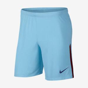 NIKE FC BARCELONA AWAY SHORTS 2017/18. Polarised Blue/Deep Royal Blue