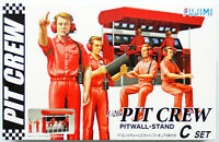 Fujimi GT25 113326 Garage & Tool Series Pit Crew Set C 1/20 scale kit