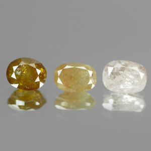 1.02Cts Mix Fancy 100% Natural Diamond Outstanding Luster ✯Clearance Sale✯