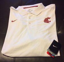 Nwt Nike Drifit Washington State Cougars Football Polo Shirt Big&Tall Size 4XL