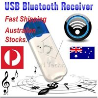 USB Bluetooth Wireless Stereo Audio Music Receiver Adapter Dongle For Car Home