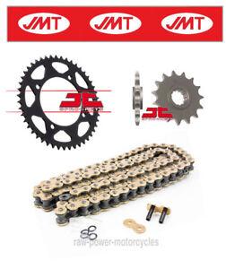 KTM GS 500 1983 JMT Gold Chain & Sprocket Kit (520X2-118)
