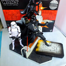 "6"" 15cm Star Wars The Black Series Diorama Tantive IV Darth Vader + Stormtrooper"