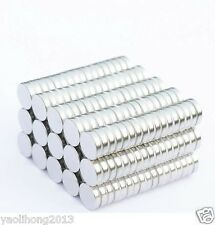 200pcs Tiny Disc 2X1mm Neodymium N50 Rare Earth Strong Magnets Craft Models