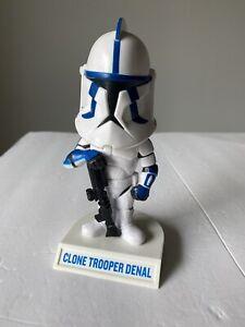 Star Wars - Clone Trooper Denal Bobblehead - 2008
