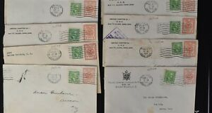 CANAL ZONE Postal History COVER LOT #4 20+ PSE Entires Some Uprated $$$$