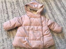 Zara Baby Girl Jacket Nude Pink Size 3-6 NWT