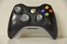 Official Microsoft xbox 360 Wireless Controller Black (worn thumbpad)