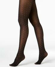 INC Women's Black Gold Metallic Dot High Rise Tights Size S / M NWT MSRP $14 A2