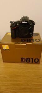 Nikon D810 36.3MP Full-Frame DSLR - Black