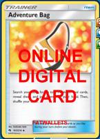 4X Adventure Bag 167/214 Lost Thunder Pokemon TCG Online Digital Card