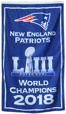 New England Patriots 2018 world Champions  flag 3x5ft  banner US Shipper