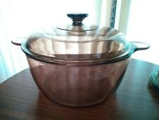 Corning Usa Visions Cookware 4.5 Liter Amber Covered Stockpot/Dutch Oven w/ lid