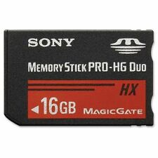 Memory Stick MS Pro Duo Memory Card for Sony 16GB PSP and Cybershot Camera