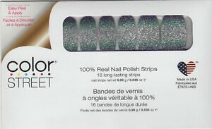 CS Nail Strips Pacific Waters -Retired 100% Nail Polish - USA Made!