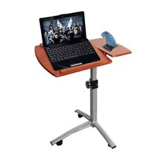 New Adjustable Laptop Notebook Desk Table Stand Holder Swivel Home Office Mobile