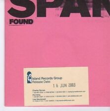 (EB17) Span, Found - 2003 DJ CD