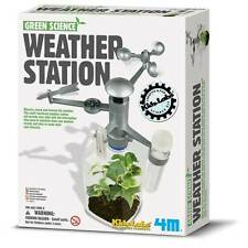 Weather Station Kit Green Science Recycle Fair Camp Gift Reuse Fun Rainy Day Toy