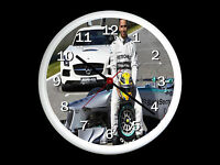 Lewis Hamilton  Wall Clock Can be Personalised