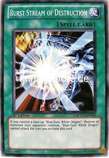 Yu-Gi-Oh 1x Burst Stream of Destruction - - - SDDC