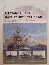 Osprey New Vanguard 229 - US Standard-type Battleships 1941-45 (2): Tennessee, C