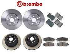 For Lexus LS400 1994-1995 Front and Rear Full Brake Kit Disc Rotors and Pads