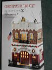 DEPT 56 CHRISTMAS IN THE CITY ENGINE COMPANY 10 NIB