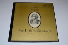 Toscanini~Nine Beethoven Symphonies~RCA LM-6901~7 LP Box Set~Booklet~FAST SHIP!!