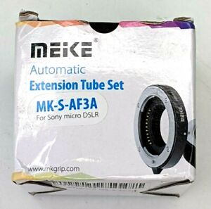MEIKE Metal Mount Auto Focus Macro Extension Tube For Sony Micro DSLR MK-S-AF3A