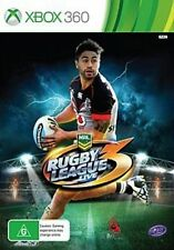 Xbox 360 NRL Rugby League Live 3 NZ Zealand Cover Shaun Johnson