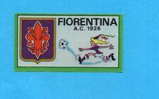 FIGURINA PANINI 1970/71 - FIORENTINA - SCUDETTO/BADGE -recuperato PERFETTO !
