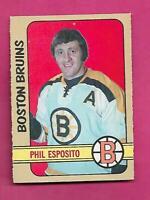 1972-73 OPC # 111 BRUINS PHIL ESPOSITO GOOD CARD (INV# D7843)