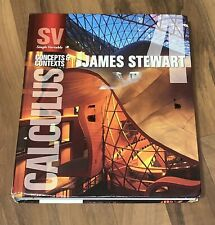 Calculus Concepts and Contexts James Stewart 2010 Hardcover 4th Edition Book