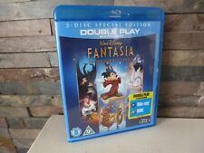 DISNEY CLASSICS : FANTASIA BLU RAY / DVD - UK  - FAST/FREE POSTING.