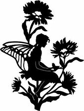 SILHOUETTE CROSS STITCH CHART - FLOWER FAIRY