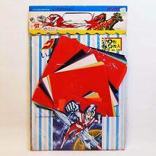 vintage Ultraman Ace Origami set MIB 1970s original Japan Banso