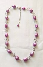 Honora: Sterling Silver and Cultured Freshwater Pearl Necklace