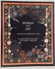 "Miriam Schapiro Vintage Art Poster 'Woman and Art' 20 x 24"""