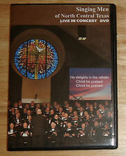 THE SINGING MEN of NORTH CENTRAL TEXAS Live in Concert DVD CHRIST BE PRAISED