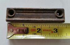 Cast Iron Door Rim Lock Keeper  Catch Strike Plate (365)