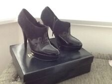 PPQ Office Ladies Black/Suede heels