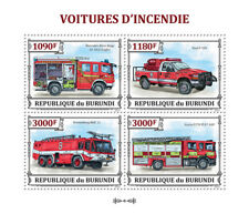 Ford F-350/Scania P270/Kronenburg MAC-11/Atego LF10/6 Fire & Rescue Stamp Sheet