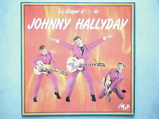 Johnny Hallyday 33Tours vinyle Le Disque D'Or De Johnny Hallyday vinyle rouge