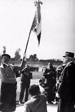 WW2 -Maréchal Pétain et Gal de La Porte du Theil, chef des Chantiers de Jeunesse