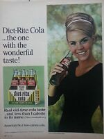 1967 Diet-Rite Sugar Free Cola Soda Tanya Morgan Ballet Dancer Ad