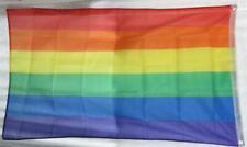 RAINBOW FLAG - Mardi Gras, Gay pride Flag 80cm x 160cm